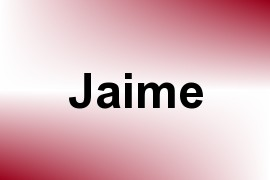 Jaime name image