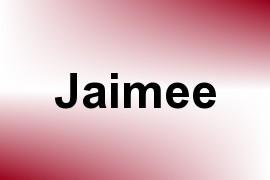 Jaimee name image
