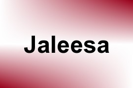 Jaleesa name image
