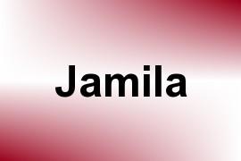 Jamila name image