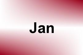Jan name image
