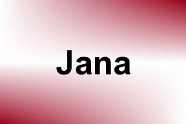 Jana name image
