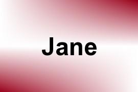 Jane name image