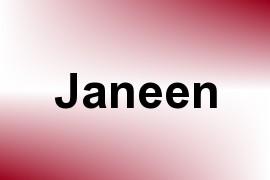 Janeen name image