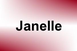 Janelle name image