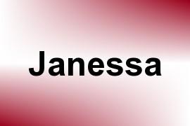 Janessa name image