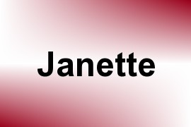 Janette name image