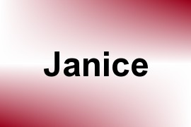 Janice name image