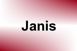 Janis name image