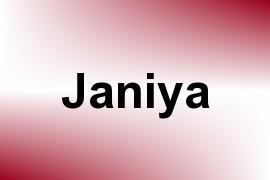 Janiya name image