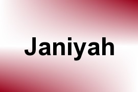 Janiyah name image