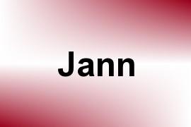 Jann name image