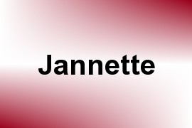 Jannette name image