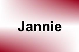 Jannie name image
