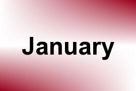 January name image