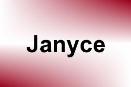Janyce name image
