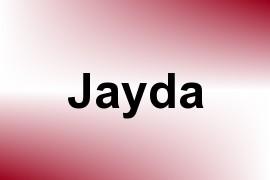 Jayda name image