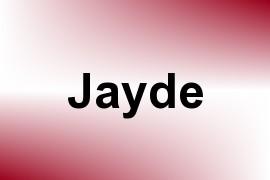 Jayde name image