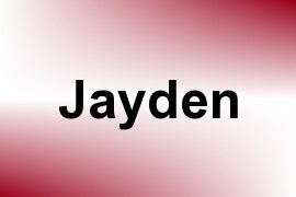 Jayden name image