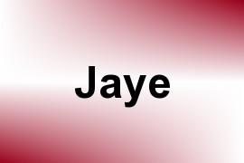 Jaye name image