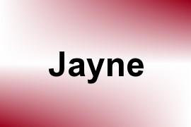 Jayne name image