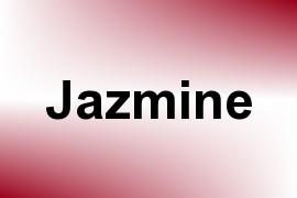 Jazmine name image