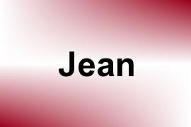 Jean name image