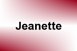 Jeanette name image