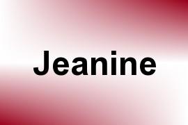 Jeanine name image