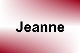 Jeanne name image