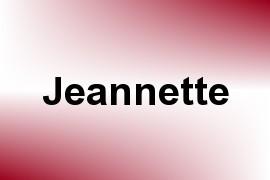 Jeannette name image