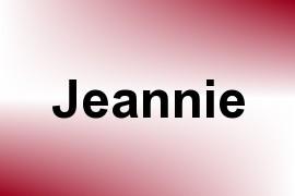 Jeannie name image