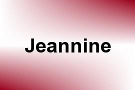 Jeannine name image