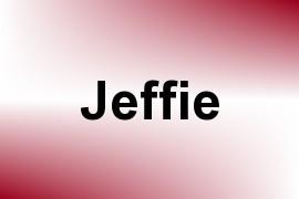 Jeffie name image