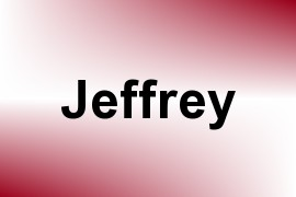Jeffrey name image