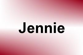 Jennie name image