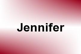 Jennifer name image