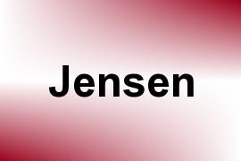Jensen name image
