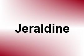 Jeraldine name image