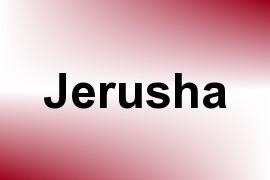 Jerusha name image