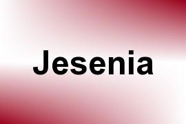 Jesenia name image