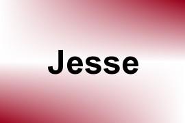 Jesse name image