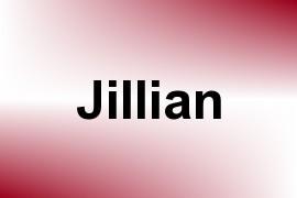 Jillian name image