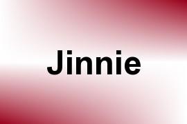Jinnie name image