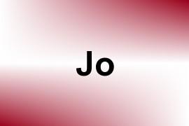 Jo name image