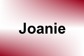Joanie name image