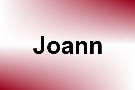 Joann name image