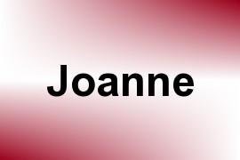 Joanne name image