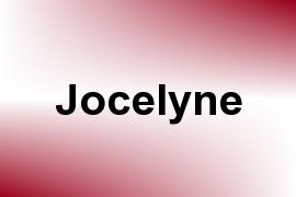 Jocelyne name image