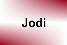 Jodi name image